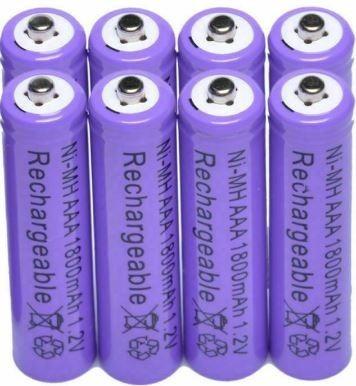 Baterías Recargables Aaa Ni-mh 1800mah 1.2v Precio C/u