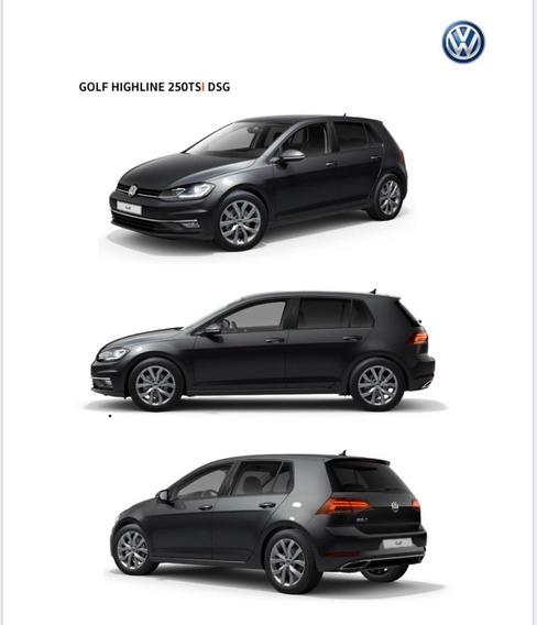 Volkswagen Vw Golf Highline 0km Dsg 1.4 Tsi (linea 2020) 20