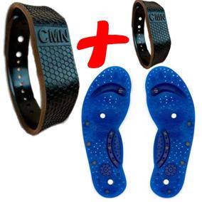 Kit Com 2 Bracelete Para Ansiedade Cmn Original 2 Imãs