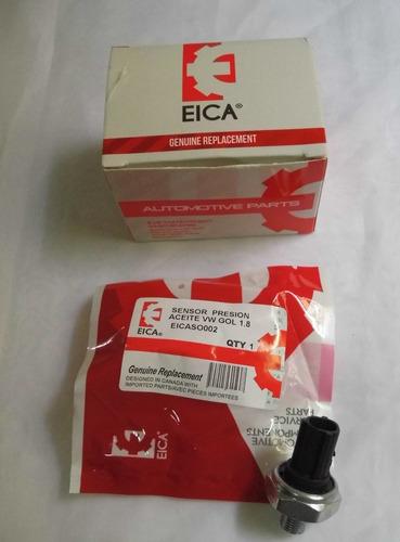 Sensor Válvula Presión Aceite Vw Gol 1.8 Eica Original 100%