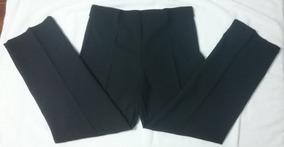 Pantalón De Vestir Para Embarazada Extensible Recto Talle 3