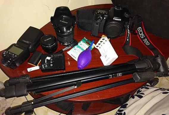 Kit Completo De Fotografia Canon 70d