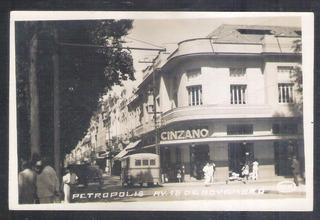 Foto Postal - Petrópolis, Avenida Quinze De Novembro.