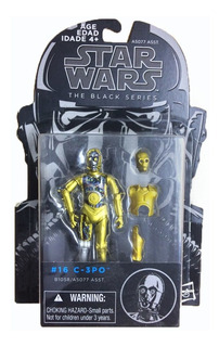 Star Wars C3-p0 The Black Series C-3po Figura Droide 3.75