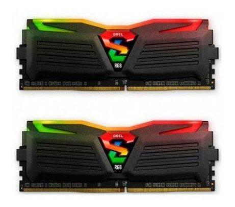 Memoria Geil Super Luce Rgb Ddr4 8gb (2x4gb) 2400 Mhz