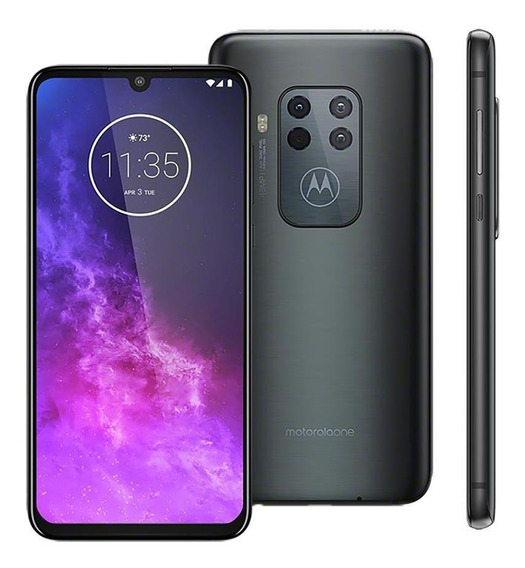 Smartphone Motorola One Zoom Xt2010 128gb Tela 6.4 Titanium