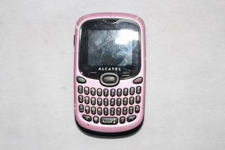 Celular Alcatel Ot-255 + Caixa + Carregador + Fone De Ouvido