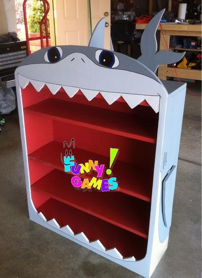 Librero Infantil Y Juguetero En Forma De Tiburón