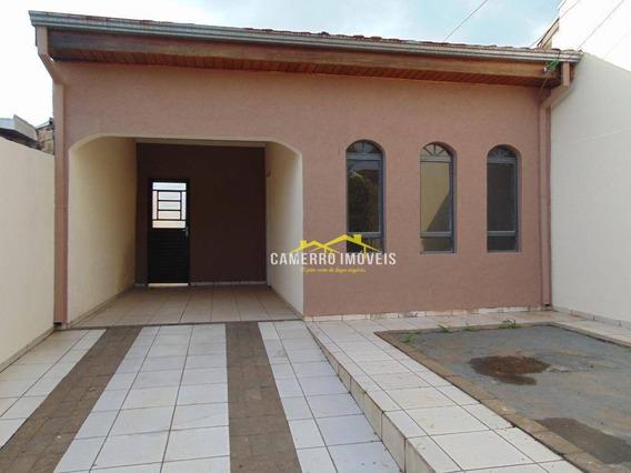 Casa Com 2 Dormitórios Para Alugar, Por R$ /mês - Morada Do Sol - Americana/sp - Ca2221