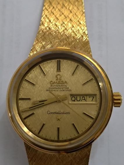 Relógio Omega Todo De Ouro Maciço Coleção!!!!
