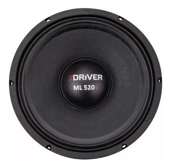 Alto Falante Woofer 7 Driver Ml 520 Rms 10 Polegadas 520s
