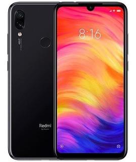 Celular Xiaomi Redmi Note 7 4gb Ram 128gb Global Preto+ Nf-e