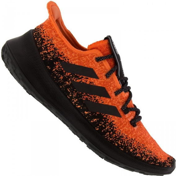 Tênis Running adidas Masculino Sensebounce G27233 Laranja