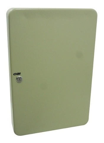 Caja Para 100 Llaves Sencilla C/llaveros De Colores 46cm Obi