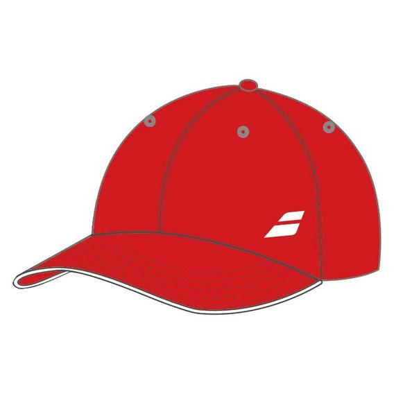 Gorra Niño De Tenis Babolat Basic Logo Roja