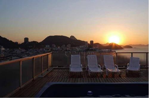 Imagem 1 de 30 de Cobertura, 403 M² - Venda Por R$ 10.000.000,00 Ou Aluguel Por R$ 16.000,00/mês - Copacabana - Rio De Janeiro/rj - Co0753