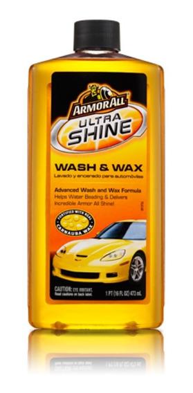 Shampoo Para Lavado Y Encerado Armor All - Cera Ultra Brillo