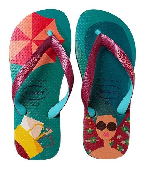 Sandalia Havaianas Top Fashion