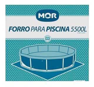 Forro Para Piscina 5500 Litros Redonda Estrutural - Mor