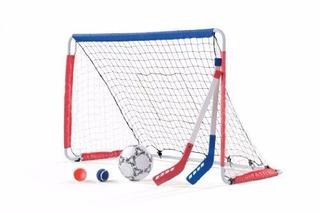 Kids Street Hockey & Socker Goal Portería Para Practica