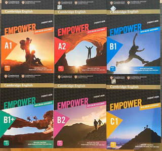 Empower Student´s Book. Nivel A2, B1,b1+,b2 Y C1.