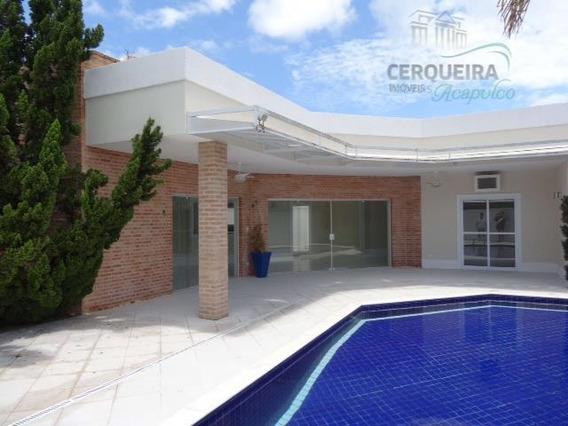 Casa Com 4 Dormitórios À Venda, 650 M² Por R$ 2.000.000,00 - Acapulco - Guarujá/sp - Ca0206