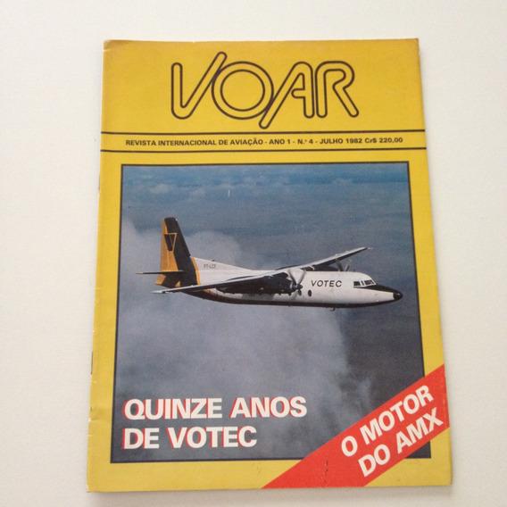 Revista Internacional De Aviação Voar Quinze Anos Votec F84