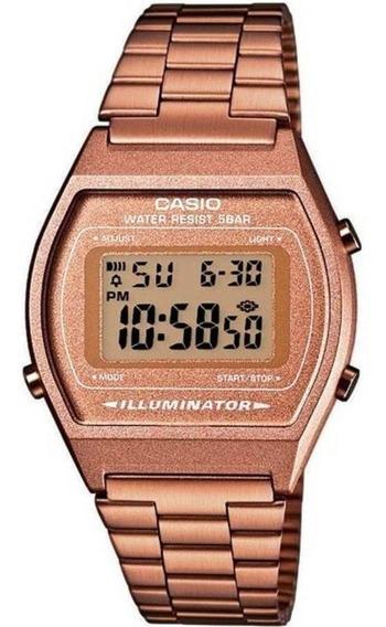 Relógio Casio Vintage Digital B640wc-5adf Rose