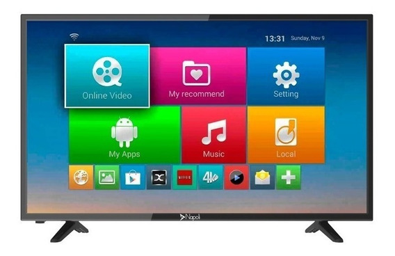 Smart Tv Led Napoli 32 Npl-32s888 Hd Digital Android Vga Hd