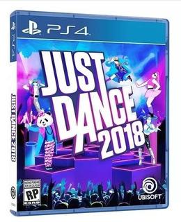 Físico Nuevo Envío Hoy Just Dance 2018 Ps4