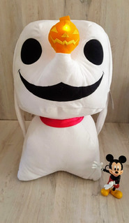 Disney Funko Peluche Zero Jack Nightmare Con Luz Led 55 Cm!!