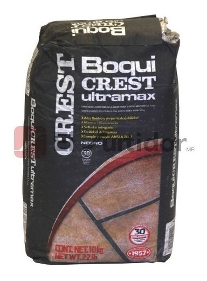 Boquicrest Ultramax Negro 10kg