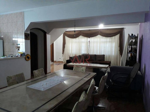 Sobrado Com 3 Dormitórios À Venda, 200 M² Por R$ 550.000,00 - Parque Boturussu - São Paulo/sp - So0293