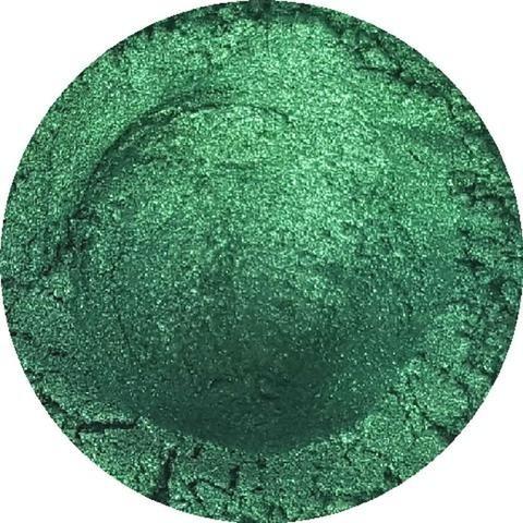Pigmento Metálico Verde X 40 Gr - Arte Con Resina Epoxy