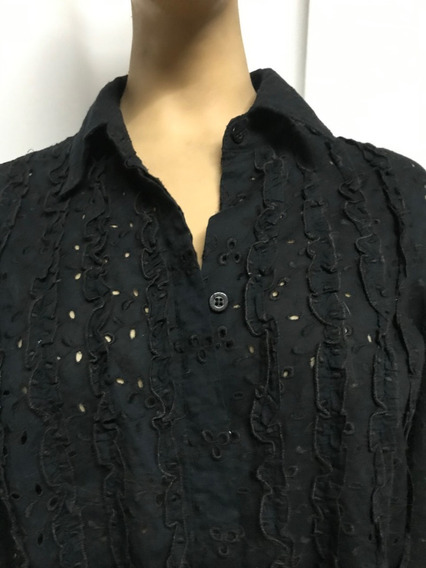 Cardon Camisa Broderie Impecable! Talle M