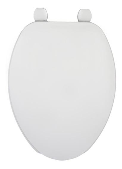 Asiento Inodoro Wc Blanco Plástico Largo Mod 175ar-000 Bemis