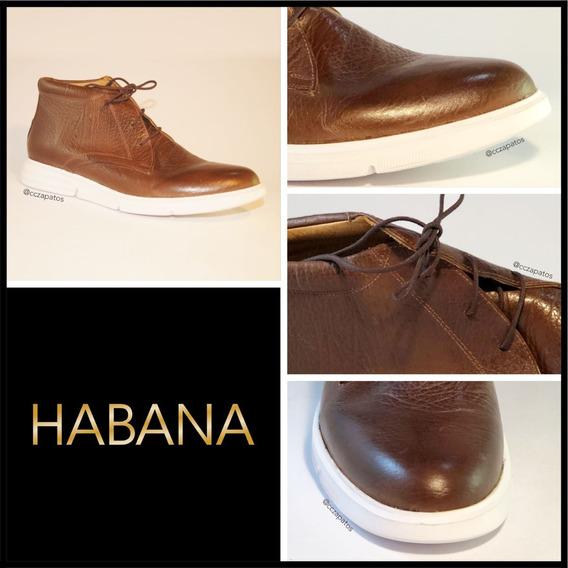 Zapato Cuero Hombre - Modelo Habana - Diseños Exclusivos