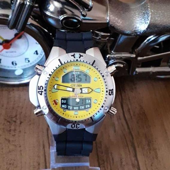 Relógio Masculino Aqua Promaster Pulseira Borracha
