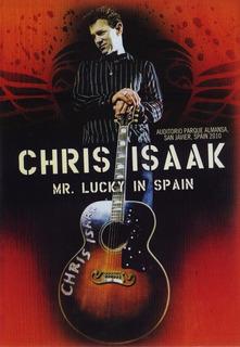 Chris Isaak Mr Lucky In Spain España 2010 Concierto Dvd
