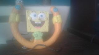 Spongebob Squarepants Funcionando.pilas Y Cable Incluidos