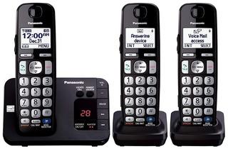 3 Telefonos Inalambricos Panasonic Kx-tge233b Multifuncion