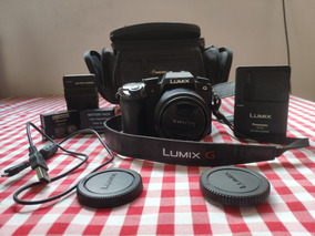 Panasonic Lumix G7 + 14-42 + 2 Baterias + Bag + Sd 32gb