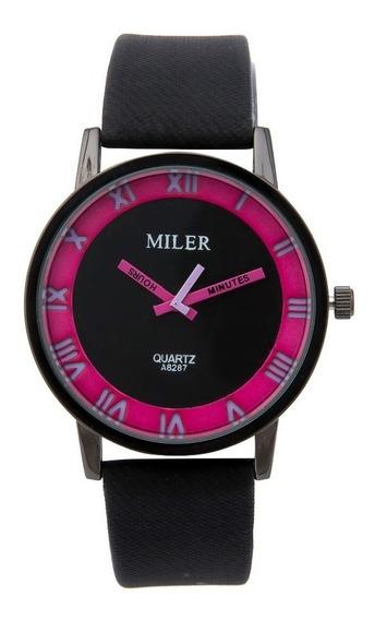 Promoção Relógio Feminino Analógico Barato C/ Estojo Quartzo