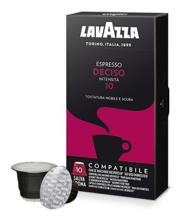 Café Cápsula Lavazza Deciso - Compativel Nespresso