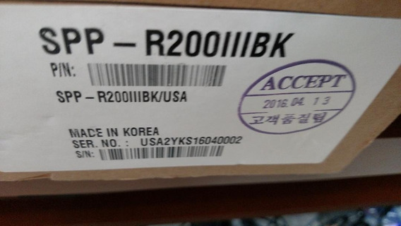 Mini Impressora Termica Bixolon R310 Bk Nova