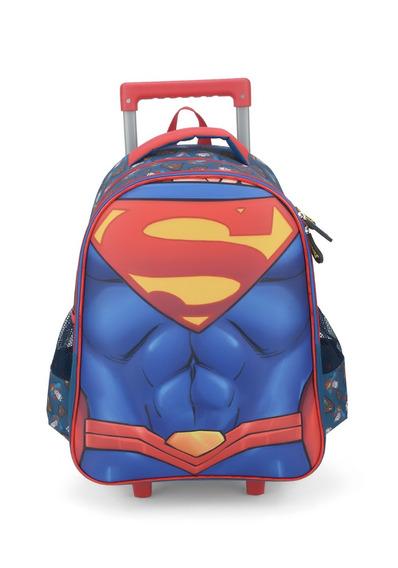Mochilete Rodinhas Volta Às Aulas Superman 2019