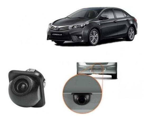 Camera De Ré Tartaruga Toyota Corolla Todas Versões