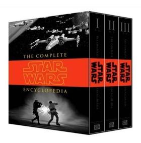 Box Livro Enciclopédia Completa Star Wars Em Inglês - Novo