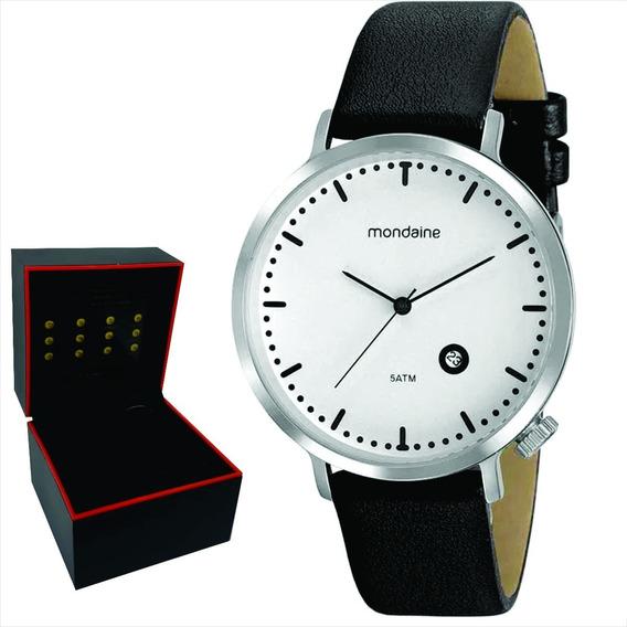 Relógio Mondaine Masculino Original Garantia Nf 99385g0mvnh1