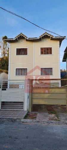 Imagem 1 de 10 de Casa Com 2 Dormitórios À Venda, 97 M² Por R$ 240.000,00 - Flores Do Aguassaí - Cotia/sp - Ca1401